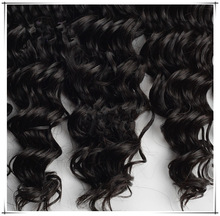 5A Indian Vigin Hair Weave Virgin Human Hair Weft Curly Human Hair Weave