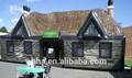 2014 venda quente ao ar livre da barraca inflável, inflável bar para casa, edifício insuflável