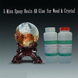 Clear Liquid Epoxy Resin AB Glue for Crystal