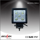 IP68 cre e 15w led work light,led headlight,agricultural tractor driving lamp