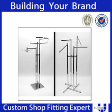 garment racks chrome