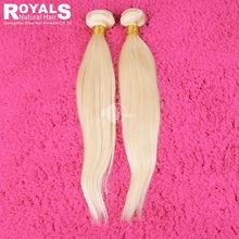 613 blonde straight virgin hair natural blonde 613 curly human hair extension