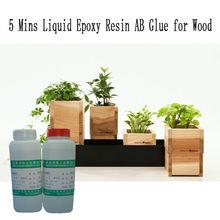 Clear Liquid Epoxy Resin AB Glue for Wood