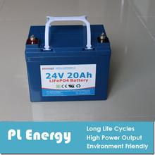 prismatic lifepo4 24V 20Ah battery pack for solar light