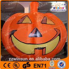 outdoor Halloween inflatable pumpkin model decorations