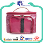 Wellpromotion promotional cheap quilt cosmetic train case