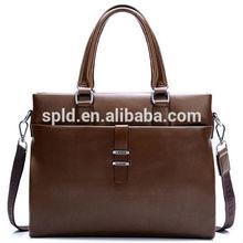Hot sale cross shoulder messenger bag fashion business men leather handbag