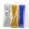 DIY kit craft metallic chenille stems