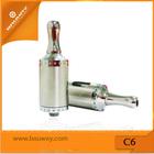 2014 newest mod battery 510 theading C6 2.0ml vaporizer bauway e-cigarette