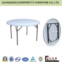 Durable outdoor plastic round folding tables small for sale