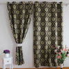 flower pattern jacquard free window curtain patterns