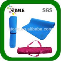 High Quality A-YM0012 blue jute yoga mat material towel rolls
