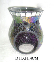 Oil warmer , Mosaic tealight holder