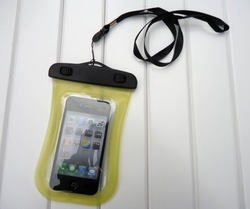 High quality for surfing waterproof mobile phone bag for iphone 4