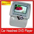 good e venda quente para 7 polegadas carro dvd player encosto de cabeça cobrir