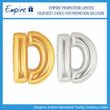Wholesale Customized Alphabet Golden Foil Balloons For Promotion