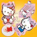 Olá kitty doces/lollipop popping com pó sour doces