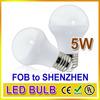 Led manufacturers selling 5watt e27 grow led bulb