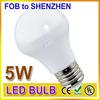 Led manufacturers selling 5watt e27 led light bulbs for home