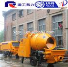 JBT30-D electric drive trailer concrete mixing pump JZM450 mixer