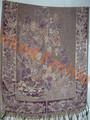 النساء أحدث تصميم التطريز اليدوي الاكريليك شال لفصل الشتاء الخريف تصميم cachecol، bufanda infinito، bufanda