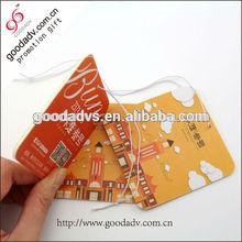 Square shape paper fragrance sachet wholesale air wick air freshener