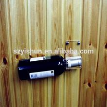 Hand made acrylic wine bottle holder ,PMMA wall mounted wine bottle holder