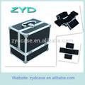 De aluminio caso de la belleza, cosméticos y la caja de barbero, de aluminio de barbero de transporte casezyd- hzmmc003