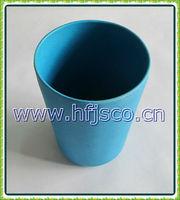 Bamboo fiber wholesale colorful pet feeder bowl