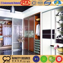For household appliance sinoah solid pine wood 3 door 1 drawer wardrobe for bedroom