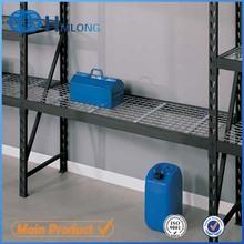 Easy installation folding metal welded shelf