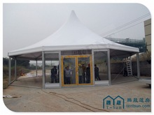2014 new design luxury Nice design Arcum tent with veranda for luxury outdoor party