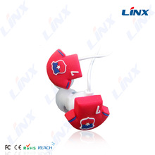 Linx high-end computer accessories bone conduction in-ear headphone case animal headphone