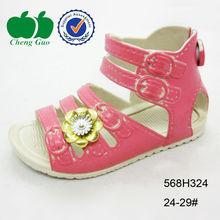 latest design slipper kid girls sandal