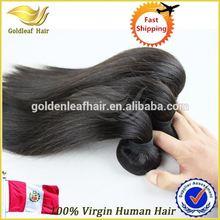 Top selling 100% unprocessed vigin peruvian straight hair