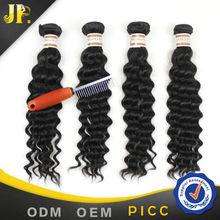 JP Hair accept sample order deep wave hot sale virgin hair human