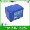 12V 15ah lithium Battery 12v light weight battery packs