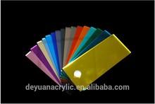 Flexible color customize acrylic mirror strips