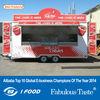 2014 Newest Factory outlet mobile kebab van