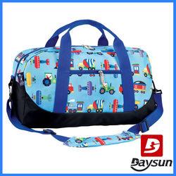 Travel Bag with Adjustable Shoulder Straps and Easy Rolling Wheels
