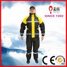 waterproof windbreaker adult nylon rain jacket and pants