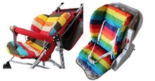 2014 new Waterproof Baby Stroller Cushion Rainbow Baby Car Seat Cushion