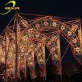 Mayoristas chinos de madera jardín arco diseños