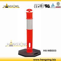 WB503 T-top bollard marker 6kg 8kg rubber base