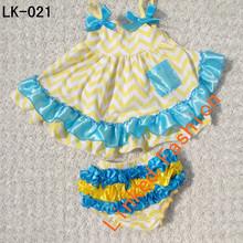 Chevron Baby Girl Satin Pillowcase Dress