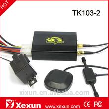 Original XeXun Updated TK103-2 Dual SIM Card SD Slot Toyota RAV4 GPS Car Tracker