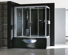 Factory price Steam Room glass bathtub tv small home sauna