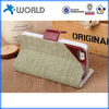 Wholesale price handhold vintage leather wallet case for iphone 6