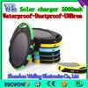 Waterproof ellipse 5000mah for mobile phones / ipad /other electronics,boss power bank,energizer power bank
