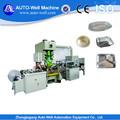 papel de aluminio de embalaje y material eléctrico impulsado por el tipo de papel de aluminio contenedor que hace la máquina